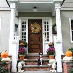 Natural Fall Porch