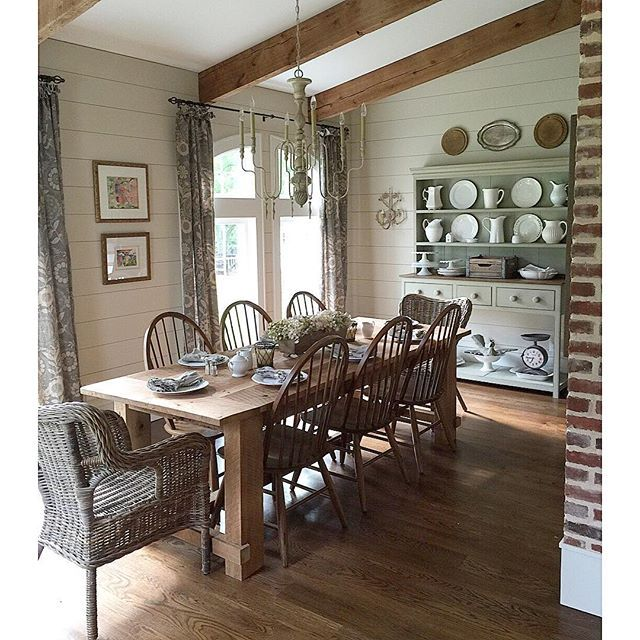 Farmhouse Dining Room Ideas: Eclectic Home Tour