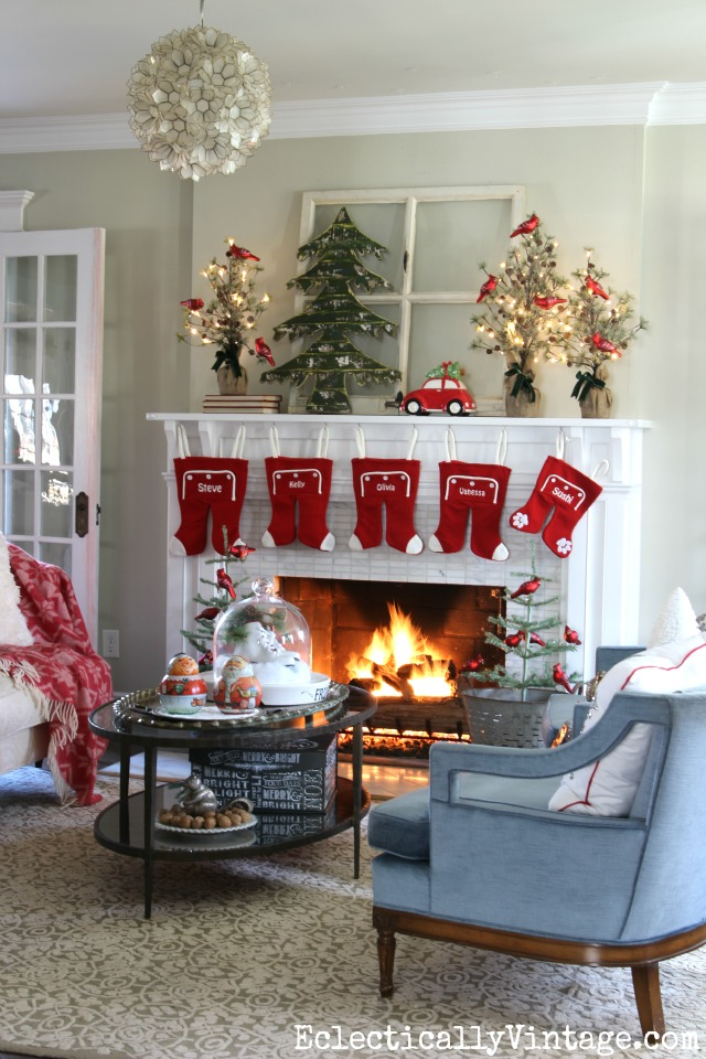 Whimsical Christmas home tour kellyelko.com