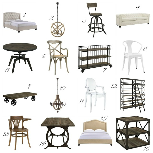 My favorite affordable furniture to get an eclectic look kellyelko.com