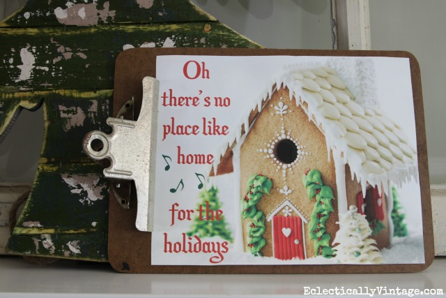 free-christmas-printable-house