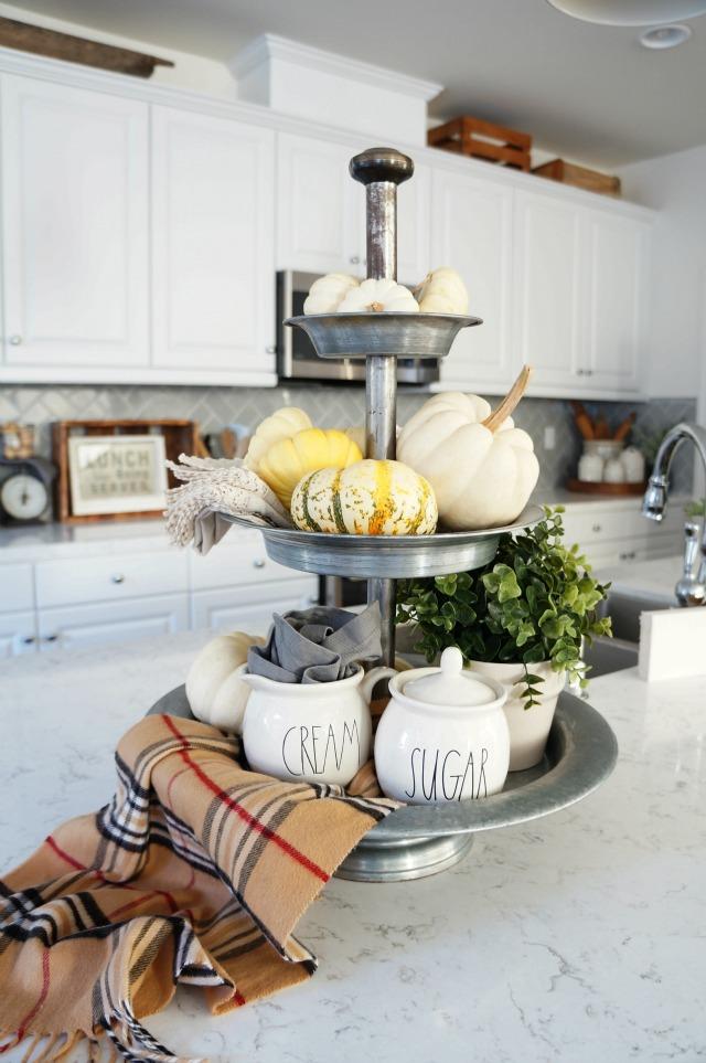 Beautiful tiered galvanized tray kellyelko.com