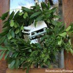10 Minute Fresh Greens Wreath