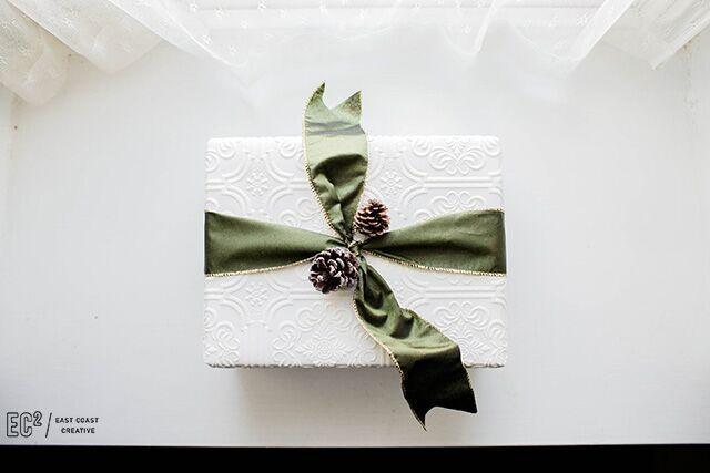 Wallpaper gift wrap!