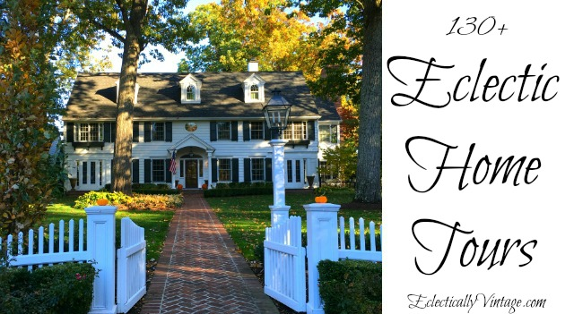 Eclectic Home Tours - best of the best kellyelko.com