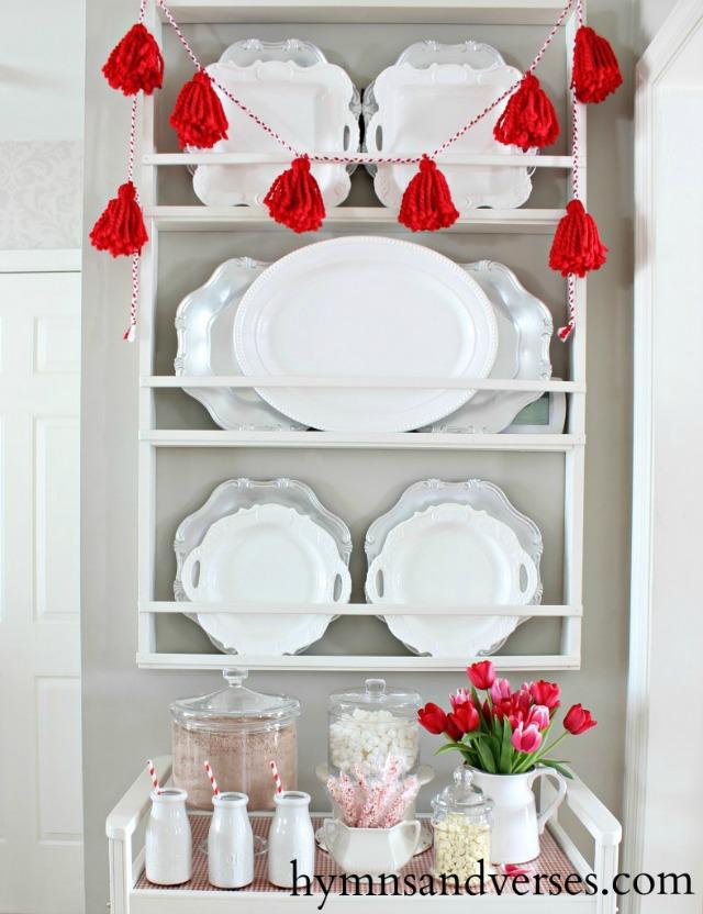 Love this DIY plate rack kellyelko.com