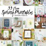 33 Free Spring Printables!