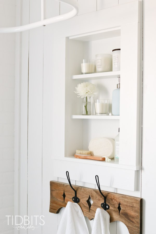 Built in shelves between the wall studs kellyelko.com