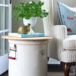 What a Crock Side Table