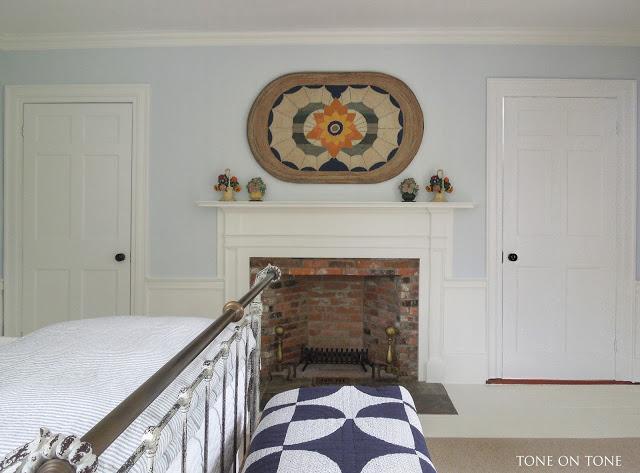 Antique hooked rug art kellyelko.com
