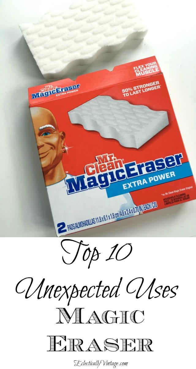 Clean Magic Eraser for Vintage Clothes