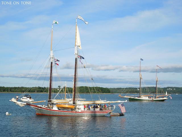 Castine Maine harbor kellyelko.com