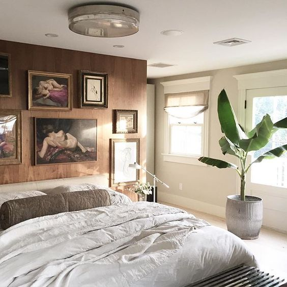 Modern Master Bedroom: Eclectic Home Tour