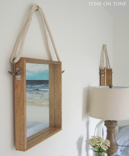 Nautical rope mirrors kellyelko.com