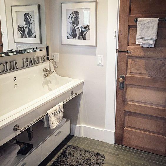 Vintage style bathroom sink kellyelko.com