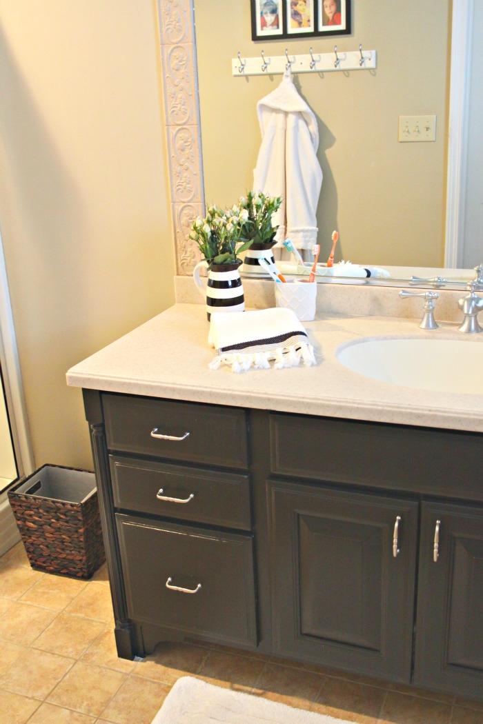 Black bathroom vanity kellyelko.com