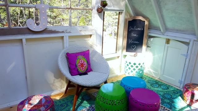Colorful Outdoor Decor Gilles Marini Treehouse