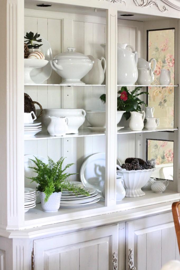 White stoneware collection kellyelko.com