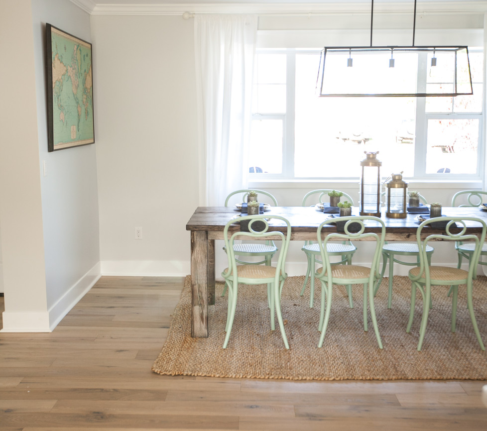 Eclectic Dining Room Sets: Eclectic Home Tour