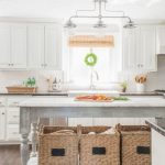 farmhouse kitchen, DIY kitchen island
