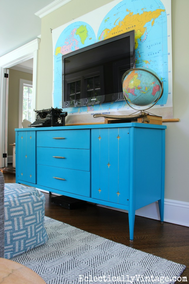 painted mid century furniture updates any home