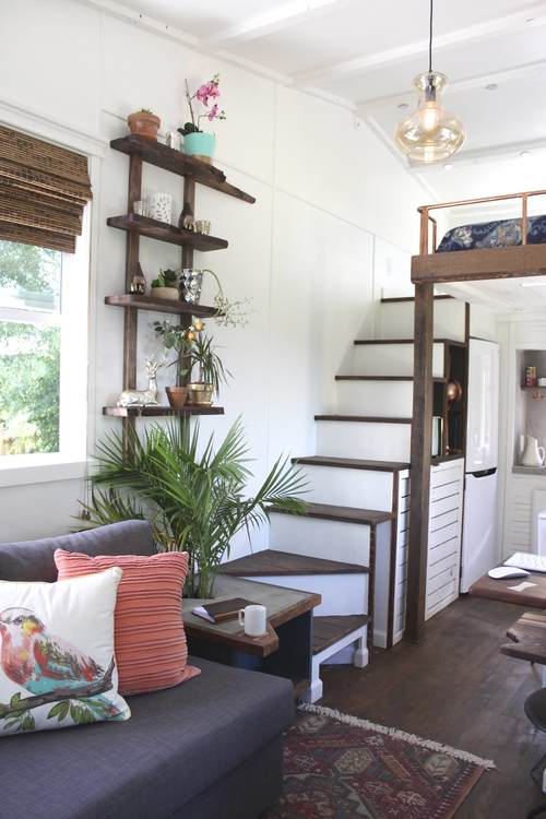 Tiny house with unique details and lots of style kellyelko.com