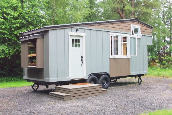 Tour the inside of this handcrafted movement tiny house with style! kellyelko.com