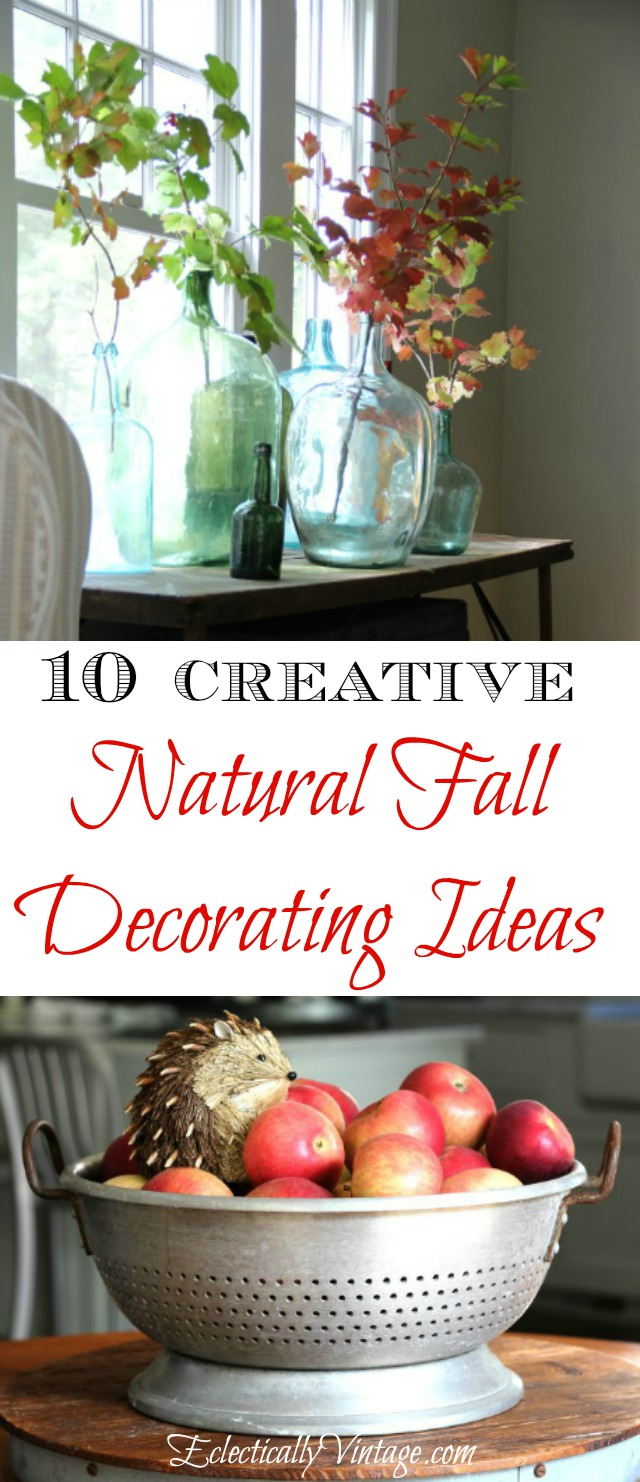 10 Natural Makeup Ideas For Everyday: Top 10 Natural Fall Decorating Ideas