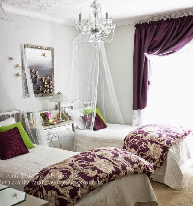 Twin beds girls room kellyelko.com