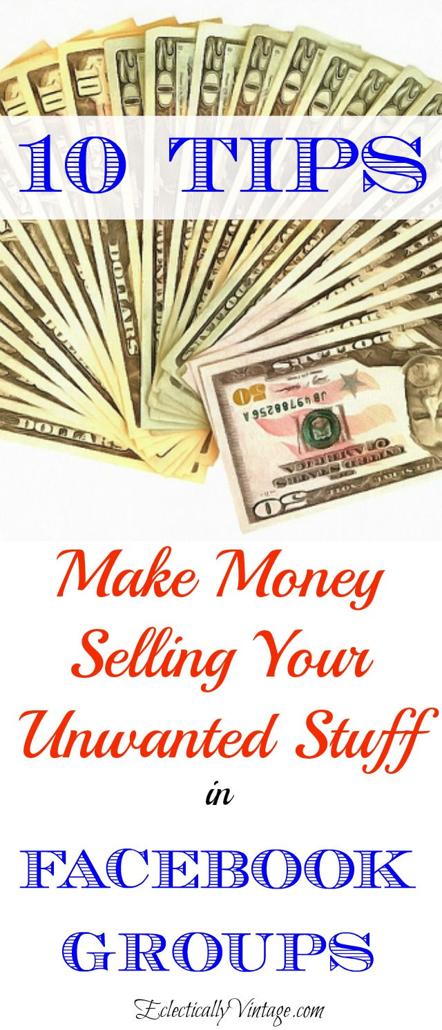 Facebook Sell Group Tips - How to Make Money