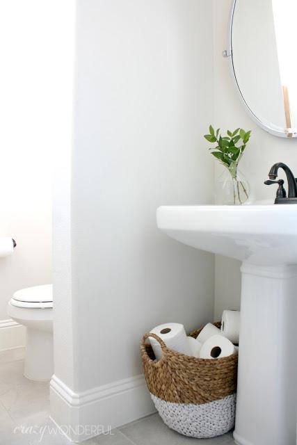 Basket toilet paper holder kellyelko.com