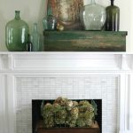 eclectically fall home tours, fall home tours, fall tour, fall mantel