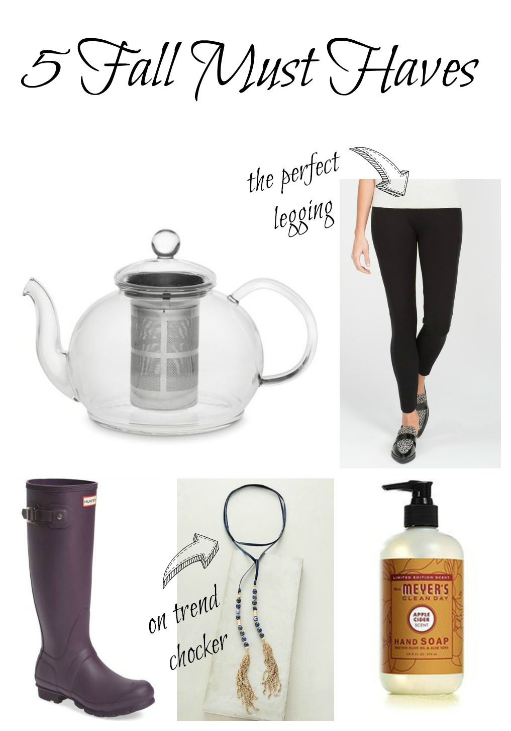 Five Fall Must Haves kellyelko.com