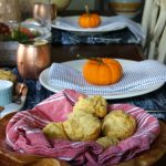 Wood & Copper Fall Tablescape