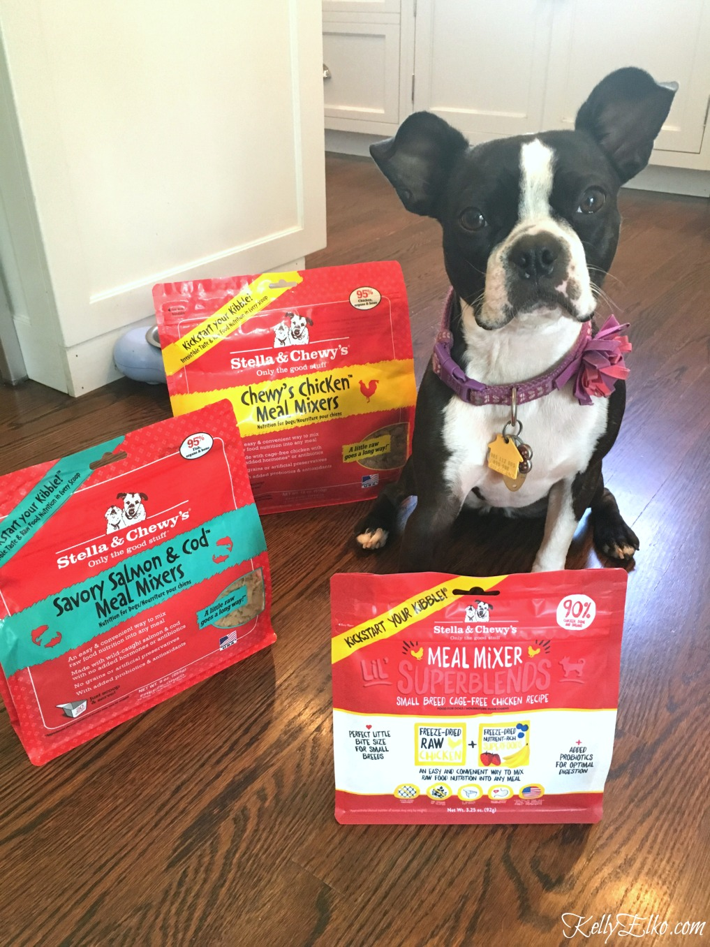 Stella & Chewy's Dog Food - I love this 100% organic raw food to keep my dog healthy! kellyelko.com