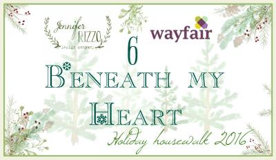 Beneath My Heart holiday house walk Christmas tour kellyelko.com