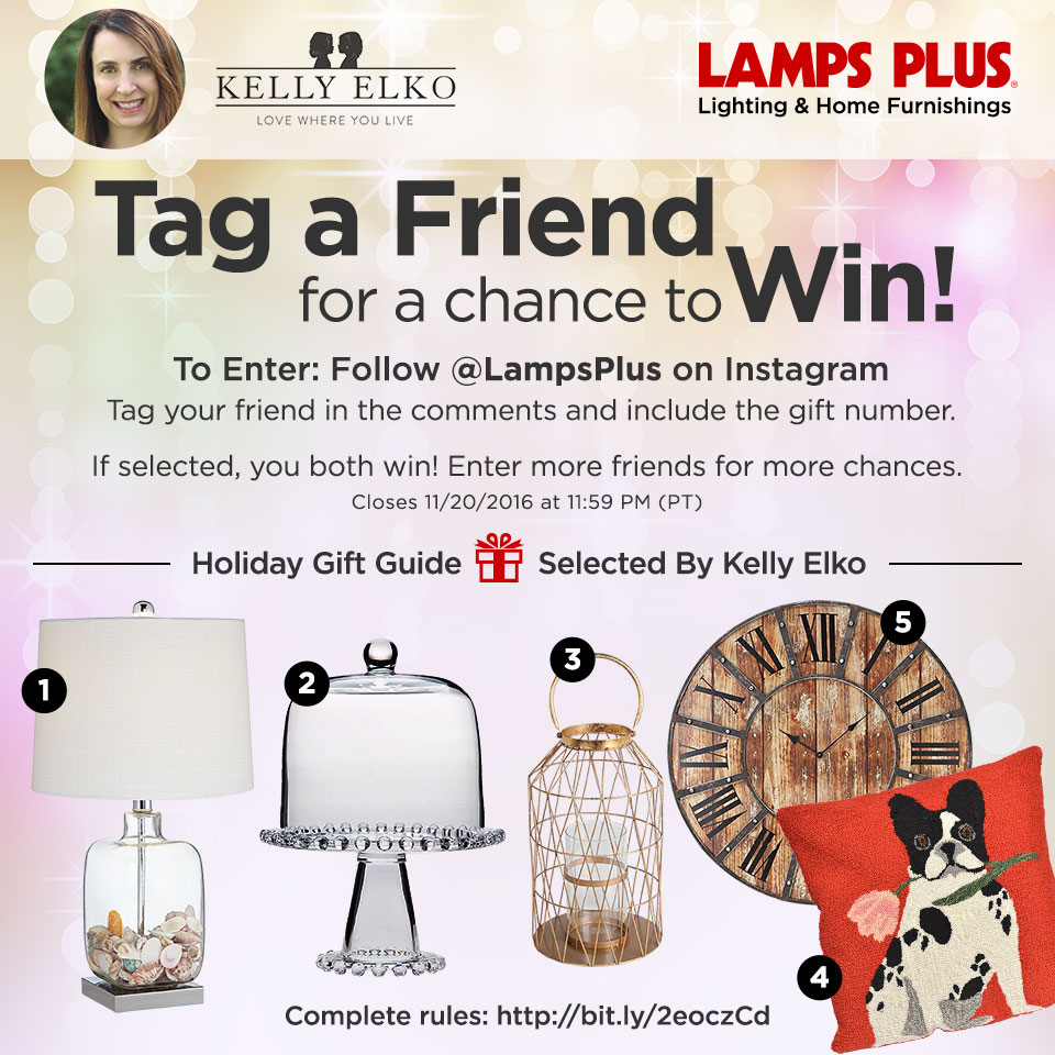 Holiday Gift Guide Giveaway kellyelko.com