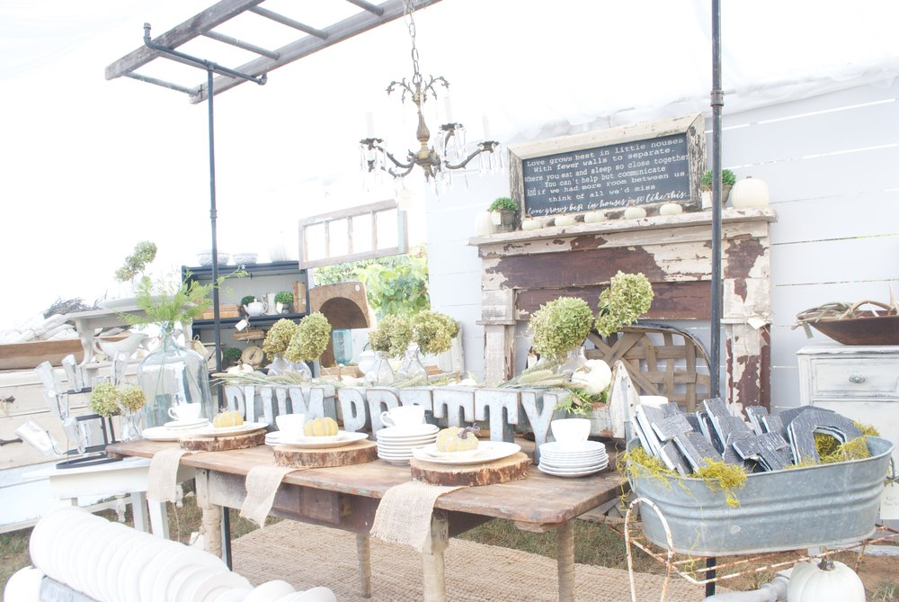 Plum Pretty pop up sale - love all her vintage finds
