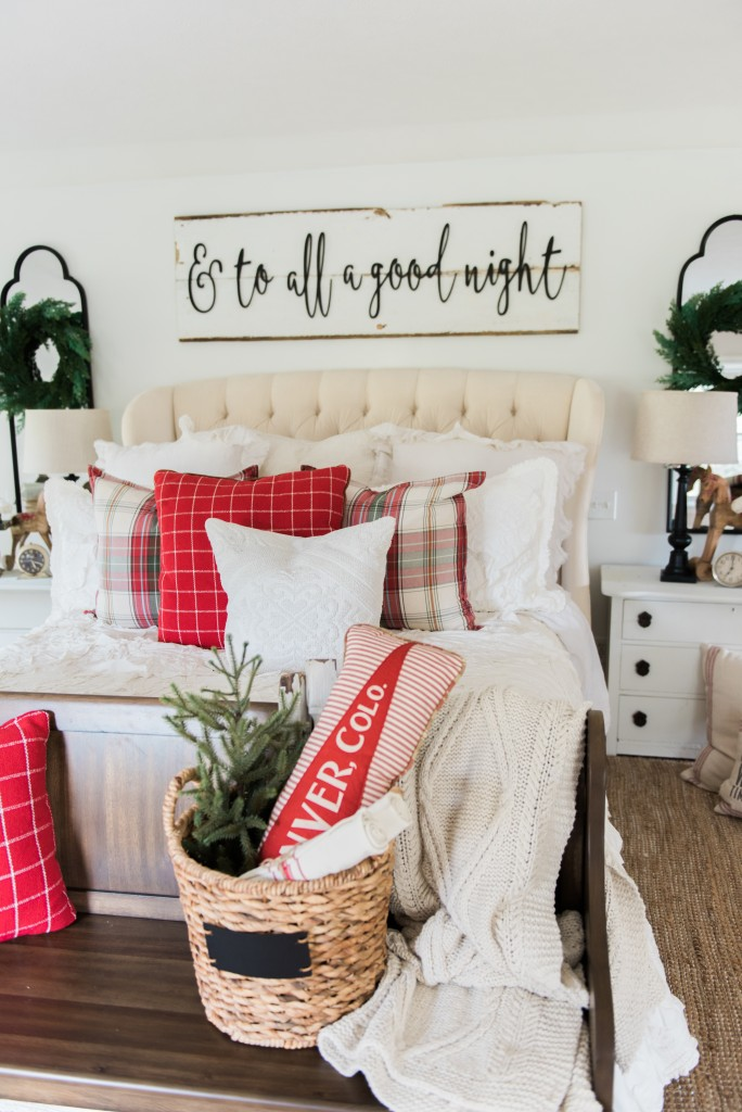Christmas bedroom - and to all a goodnight