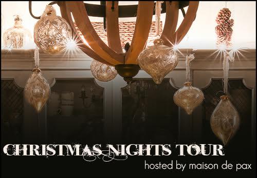 Christmas Nights Tour - 35 homes sparkling at night kellyelko.com
