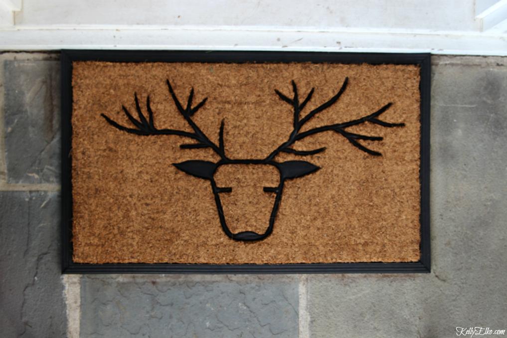 Deer doormat kellyelko.com