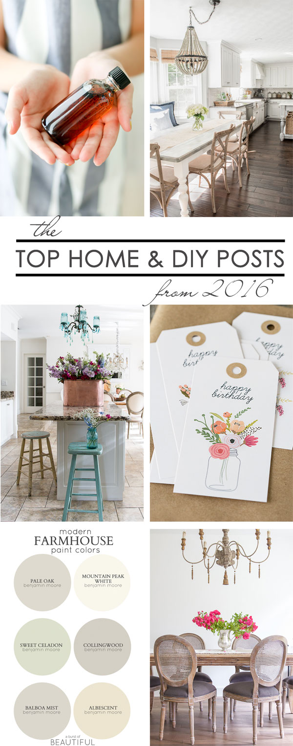 Top Home & DIY Posts from 30 of your Favorite Bloggers! kellyelko.com