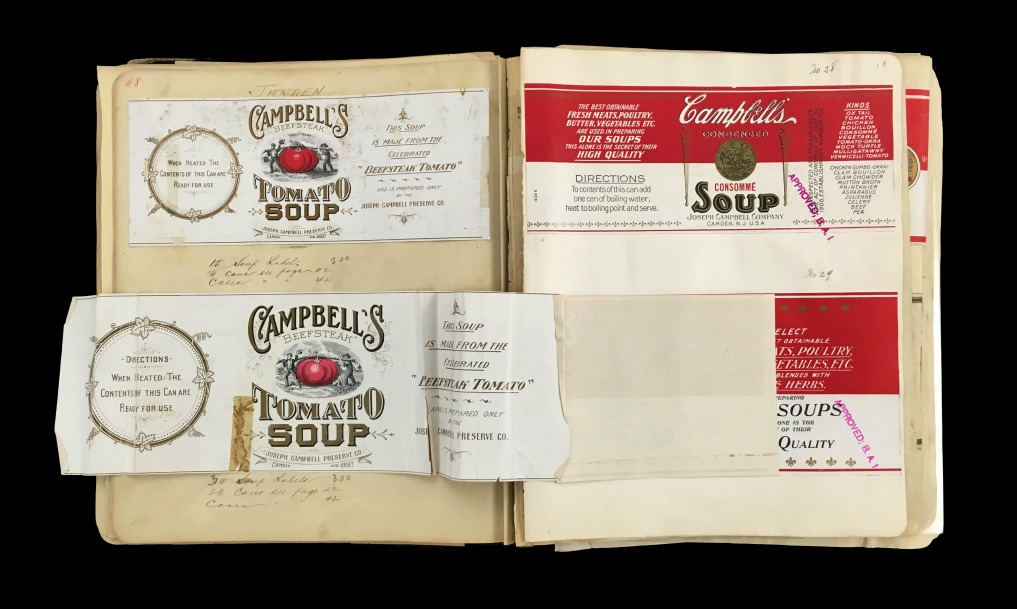 Campbell's Soup - vintage labels