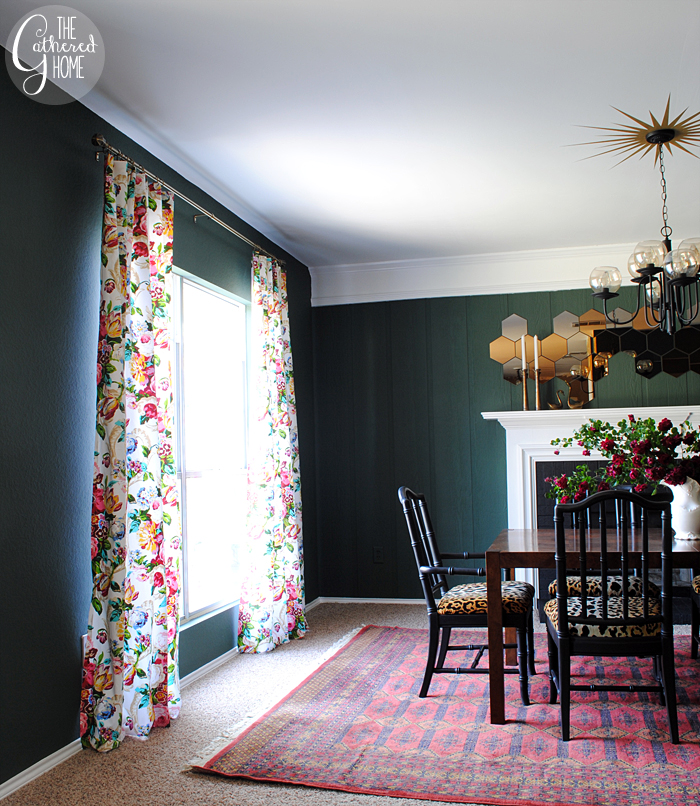 The Gathered Home Blog home tour - 98% of her decor is from thrift stores!