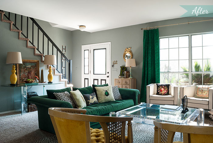 Eclectic home tour filled with mostly thrift store finds