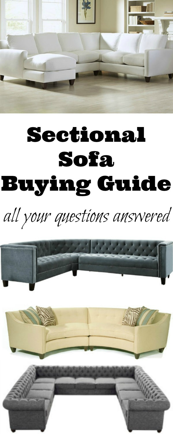 Sectional Sofa Buying Guide - all your questions answered so you get the right sofa for your space kellyelko.com