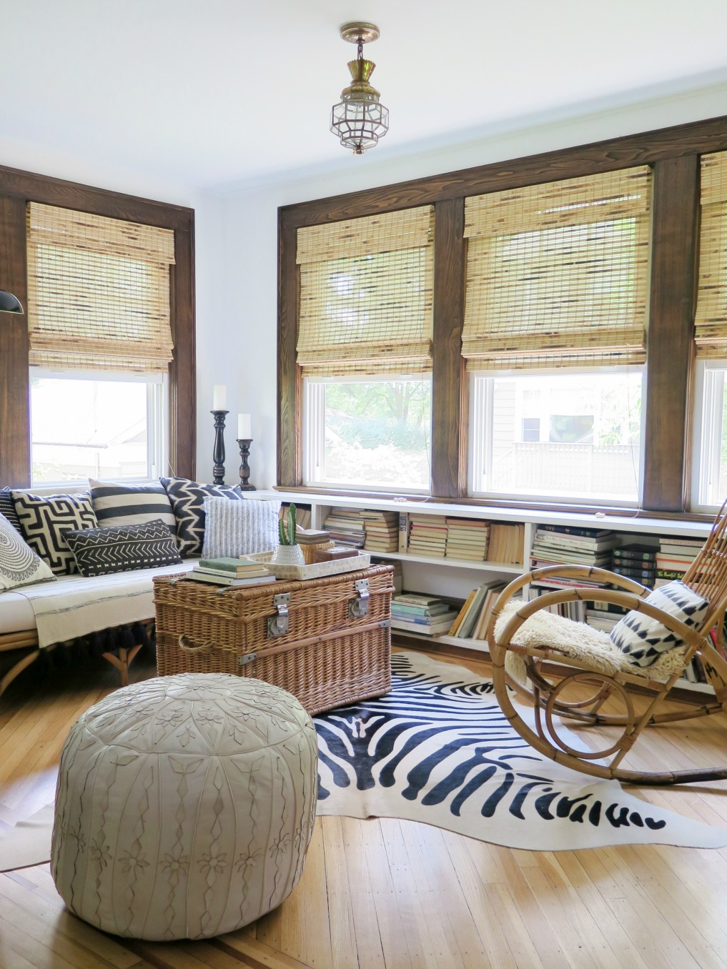 Eclectic Home Tour of Verdoir - tour this 1920's home with a boho, eclectic feel