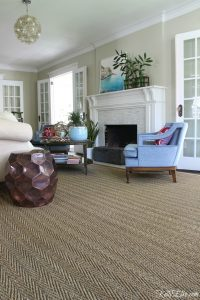 Living Room Solution – Custom Cut Rug