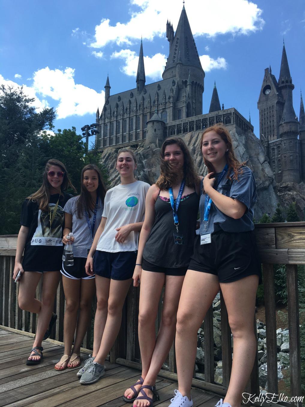 Hogwarts Castle Universal Orlando kellyelko.com