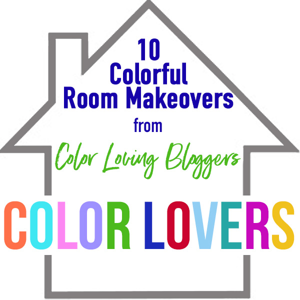 Color Lovers Room Makeovers - 10 Colorful Room Makeovers that completely transform each space kellyelko.com